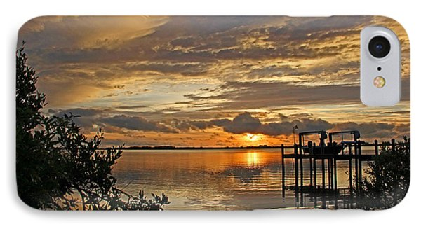 A Brooding Sunset Sky Phone Case by HH Photography of Florida