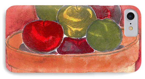 A Bucket Full Of Apples IPhone Case by Saad Hasnain