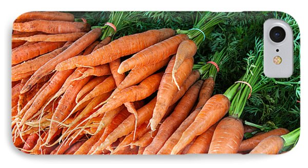 A Bunch Of Carrots IPhone Case