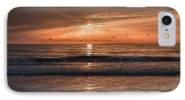 IPhone Case featuring the photograph A Burnished Sunrise by John M Bailey