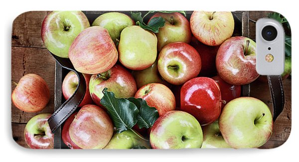 IPhone Case featuring the photograph A Bushel Of Apples  by Stephanie Frey