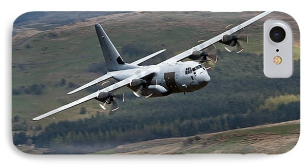 A C-130 Hercules Of The Royal Air Force Phone Case by Andrew Chittock