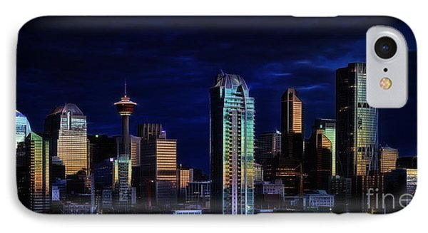 IPhone Case featuring the photograph A Calgary Sunrise by Brad Allen Fine Art