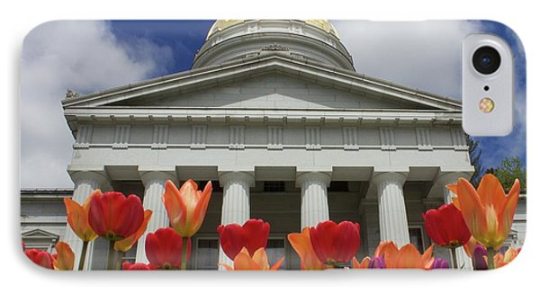 A Capitol Day IPhone Case by Alice Mainville