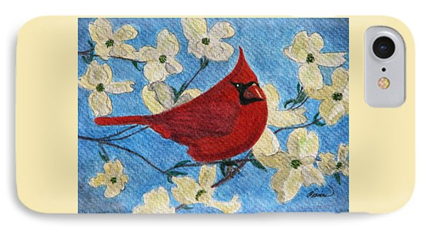 A Cardinal Spring IPhone Case