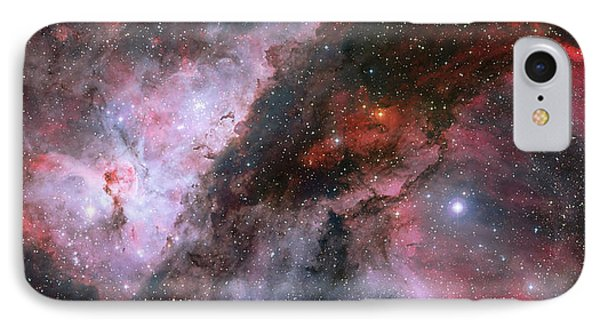 IPhone Case featuring the photograph A Carina Nebula Pano by Nasa