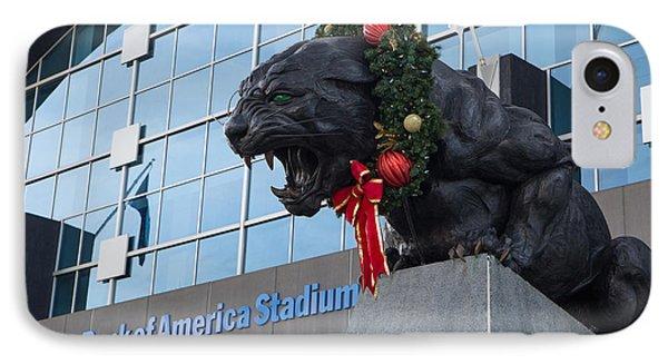 A Carolina Panthers Christmas IPhone Case