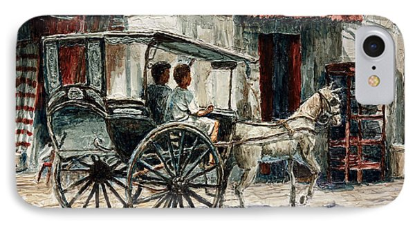 A Carriage On Crisologo Street IPhone Case