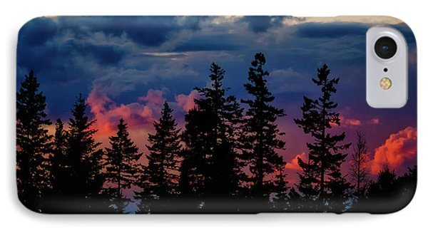 A Chance Of Thundershowers IPhone Case by Albert Seger