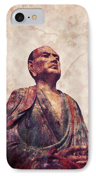 Buddha 5 IPhone Case by Lynn Sprowl
