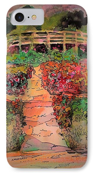 A Charming Path IPhone Case by Mindy Newman