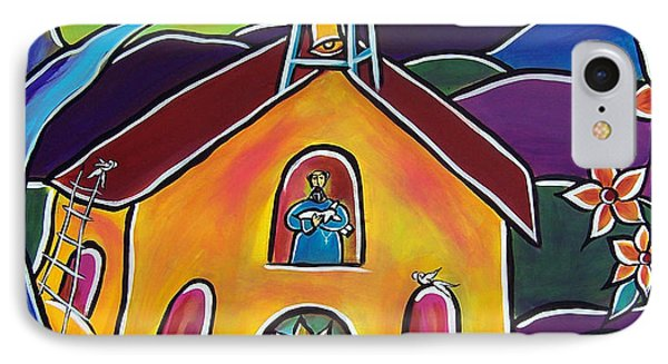 A Church For St. Francis IPhone Case
