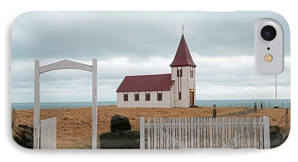 IPhone Case featuring the photograph A Church With No Fence by Dubi Roman