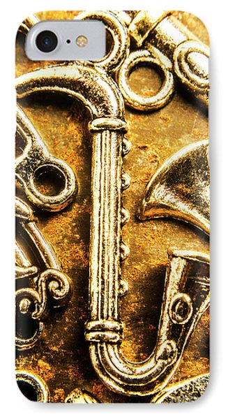 Trumpet iPhone 7 Case - A Classical Composition by Jorgo Photography - Wall Art Gallery