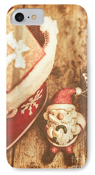 A Clause For A Merry Christmas  IPhone Case by Jorgo Photography - Wall Art Gallery