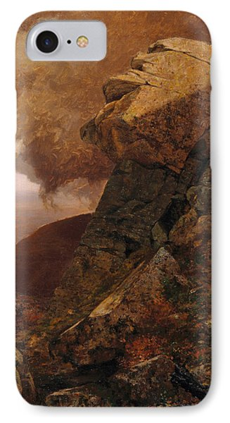 A Cliff In The Katskills IPhone Case