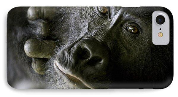 A Close Up Portrait Of A Mountain IPhone 7 Case