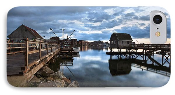 A Coastal Scene IPhone Case by Eric Gendron