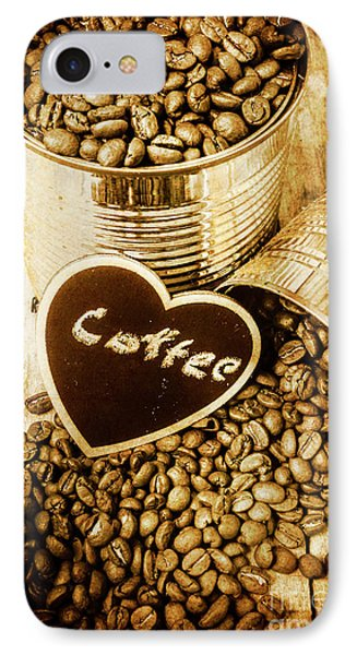 A Coffeehouse Romance IPhone Case by Jorgo Photography - Wall Art Gallery