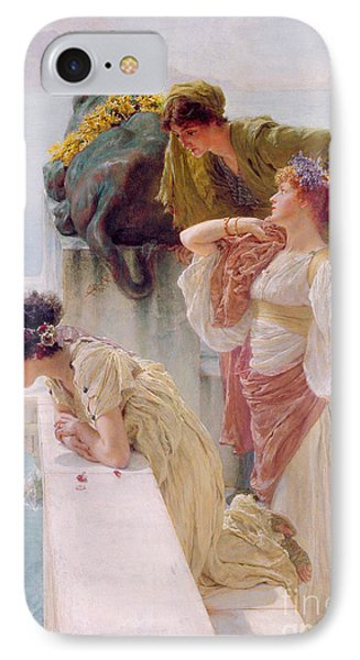 A Coign Of Vantage IPhone Case by Sir Lawrence Alma-Tadema