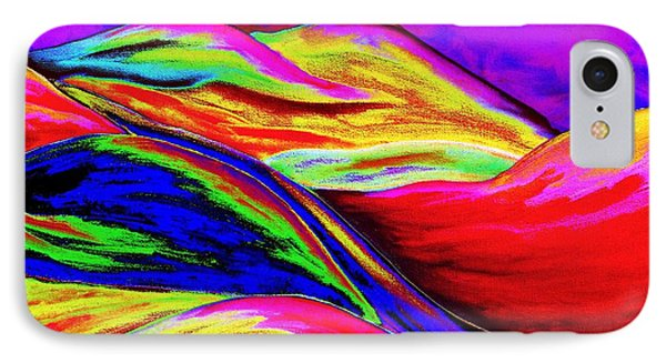 A Colorful World IPhone Case by Annie Zeno