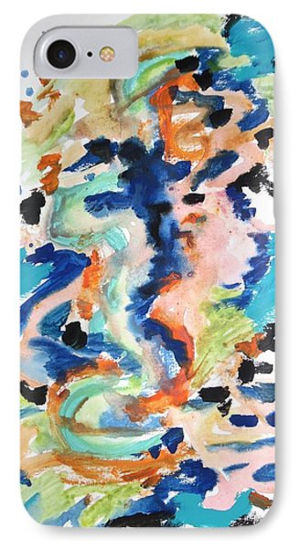 A Confusion Of Impressions IPhone Case by Esther Newman-Cohen