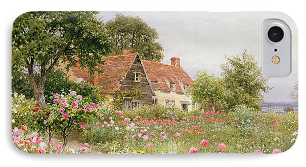 A Cottage Garden IPhone Case by Henry Sutton Palmer