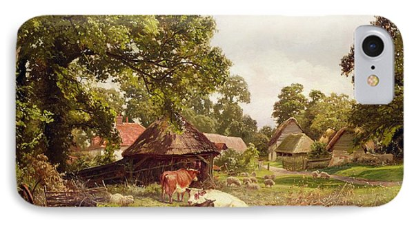 A Cottage Home In Surrey IPhone Case