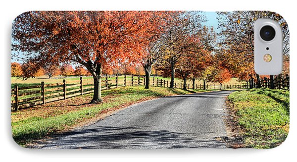 A Country Drive IPhone Case by JC Findley