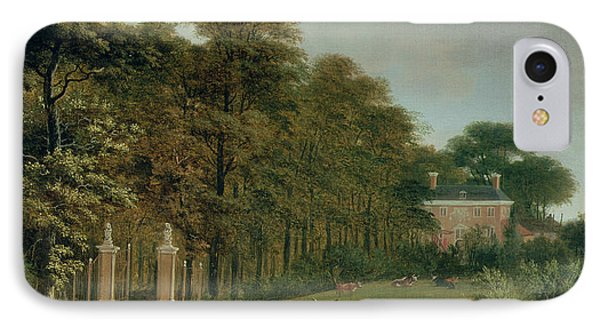 A Country House IPhone Case by J Hackaert