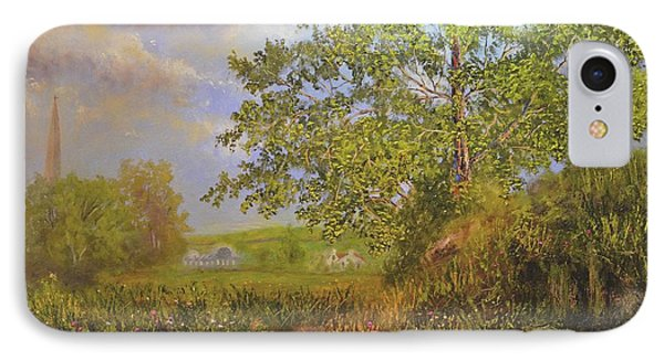 A Country Walk In Bristal IPhone Case