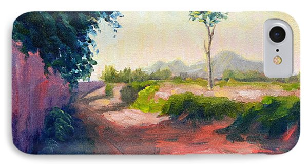 A Countryside Road IPhone Case