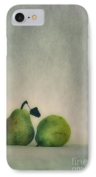 A Couple Of Pears IPhone Case by Priska Wettstein