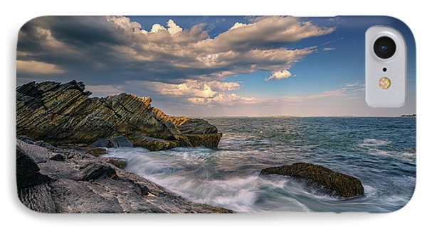 A Cove On Muscongus Bay IPhone Case by Rick Berk