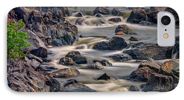 A Creek To The Side IPhone Case by Rick Berk