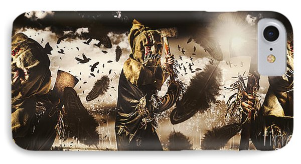A Crow Left Of The Murder IPhone Case by Jorgo Photography - Wall Art Gallery