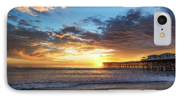 A Crystal Sunset IPhone Case by Joseph S Giacalone