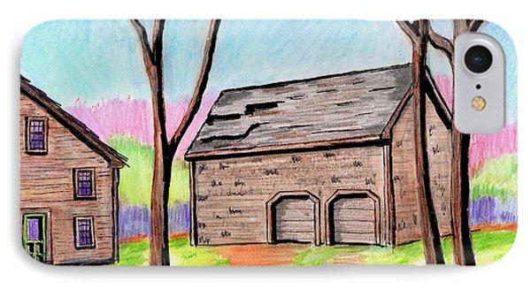A Danvers Barn IPhone Case by Paul Meinerth