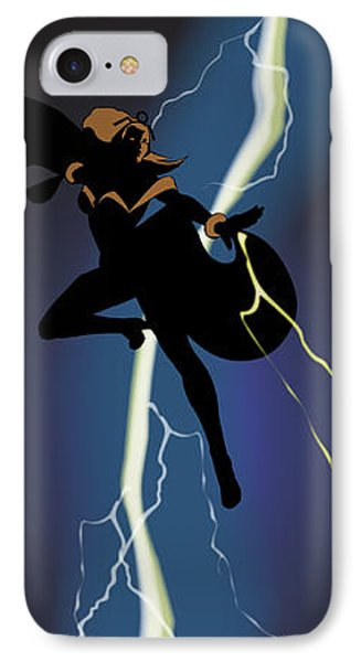 A Dark And Stormy Knight Returns IPhone Case