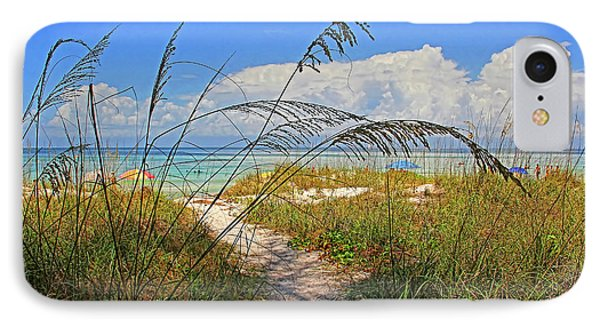 A Day At The Beach IPhone Case by HH Photography of Florida