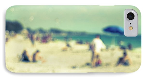 IPhone Case featuring the photograph a day at the beach I by Hannes Cmarits