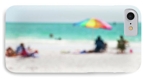 IPhone Case featuring the photograph a day at the beach IV by Hannes Cmarits