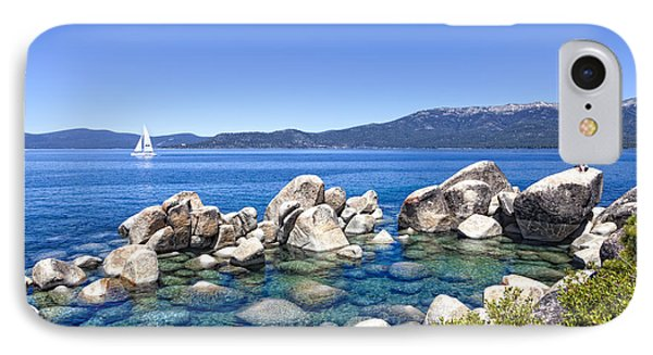 A Day At The Lake Phone Case by Janet Fikar