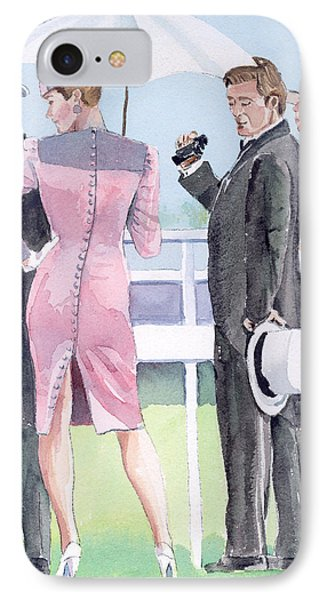 A Day At The Races Phone Case by Arline Wagner