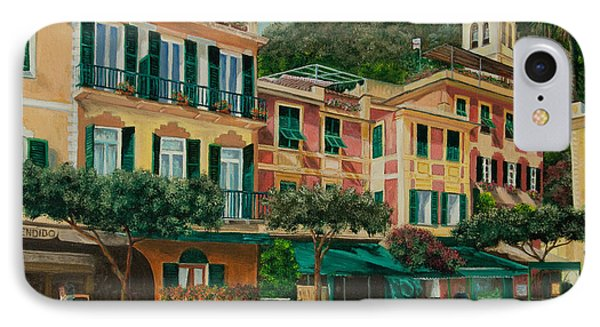 A Day In Portofino Phone Case by Charlotte Blanchard