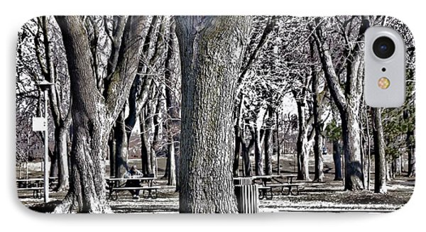 A Day In The Park IPhone Case by Reb Frost