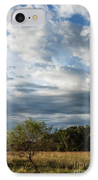 IPhone Case featuring the photograph A Day In The Prairie by Iris Greenwell