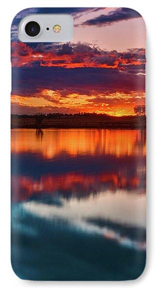 A Denver Dawn IPhone Case by John De Bord