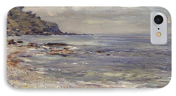 A Deserted Rocky Shore IPhone Case
