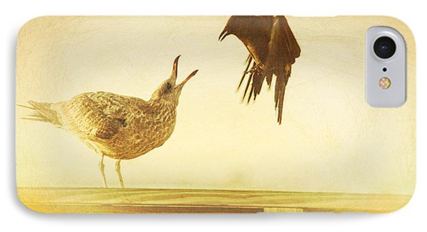 A Disagreement IPhone Case by Karol Livote